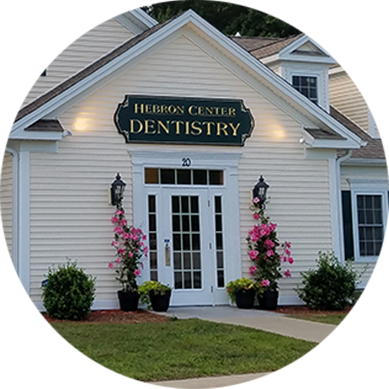 Hebron Center Dentistry Entrance